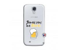 Coque Samsung Galaxy S4 Jamais Sans Ma Blonde