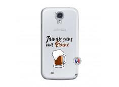 Coque Samsung Galaxy S4 Jamais Sans Ma Brune
