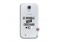 Coque Samsung Galaxy S4 Je Dribble Comme Cristiano