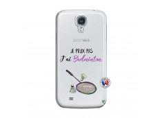 Coque Samsung Galaxy S4 Je Peux Pas J Ai Badminton