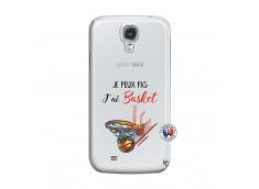 Coque Samsung Galaxy S4 Je Peux Pas J Ai Basket