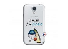 Coque Samsung Galaxy S4 Je peux pas j'ai cricket