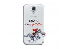 Coque Samsung Galaxy S4 Je Peux Pas J Ai Equitation