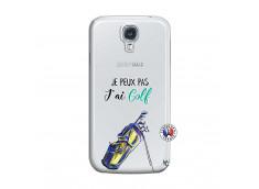 Coque Samsung Galaxy S4 Je Peux Pas J Ai Golf