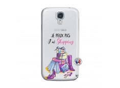 Coque Samsung Galaxy S4 Je Peux Pas J Ai Shopping