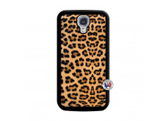 Coque Samsung Galaxy S4 Leopard Style Noir