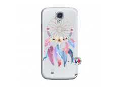 Coque Samsung Galaxy S4 Multicolor Watercolor Floral Dreamcatcher
