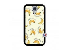 Coque Samsung Galaxy S4 Sorbet Banana Split Noir