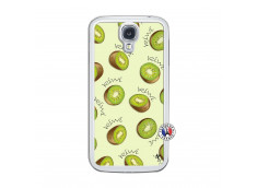 Coque Samsung Galaxy S4 Sorbet Kiwi Translu
