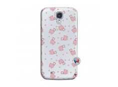 Coque Samsung Galaxy S4 Petits Moutons