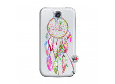 Coque Samsung Galaxy S4 Pink Painted Dreamcatcher
