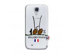 Coque Samsung Galaxy S4 100 % Rugbyman Entre les Poteaux