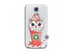 Coque Samsung Galaxy S4 Catpucino Ice Cream