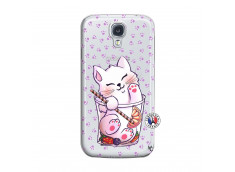 Coque Samsung Galaxy S4 Smoothie Cat