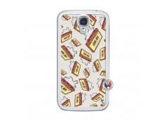Coque Samsung Galaxy S4 Vintage Tape Translu