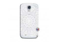 Coque Samsung Galaxy S4 White Mandala
