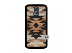 Coque Samsung Galaxy S5 Mini Aztec Noir