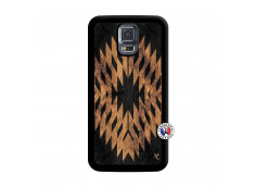 Coque Samsung Galaxy S5 Mini Aztec One Motiv Noir