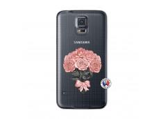 Coque Samsung Galaxy S5 Mini Bouquet de Roses