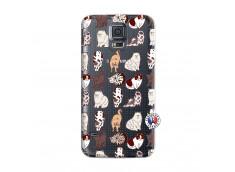 Coque Samsung Galaxy S5 Mini Cat Pattern
