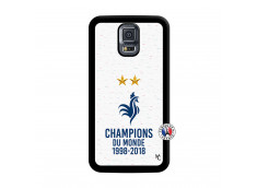Coque Samsung Galaxy S5 Mini Champion Du Monde Noir