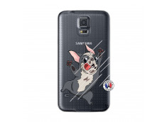 Coque Samsung Galaxy S5 Mini Dog Impact