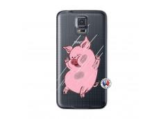 Coque Samsung Galaxy S5 Mini Pig Impact