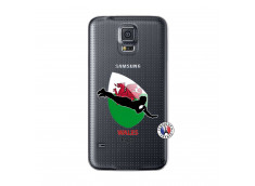 Coque Samsung Galaxy S5 Mini Coupe du Monde Rugby-Walles