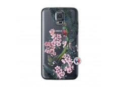 Coque Samsung Galaxy S5 Mini Flower Birds