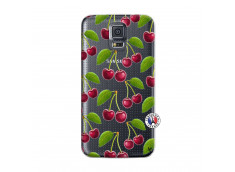 Coque Samsung Galaxy S5 Mini oh ma Cherry