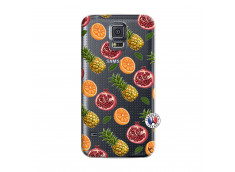 Coque Samsung Galaxy S5 Mini Fruits de la Passion