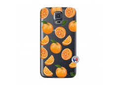 Coque Samsung Galaxy S5 Mini Orange Gina