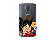 Coque Samsung Galaxy S5 Mini Goku Impact