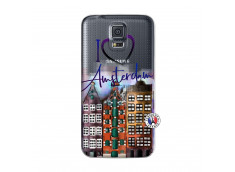 Coque Samsung Galaxy S5 Mini I Love Amsterdam