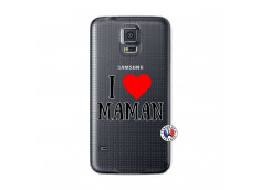 Coque Samsung Galaxy S5 Mini I Love Maman