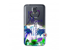 Coque Samsung Galaxy S5 Mini I Love Miami