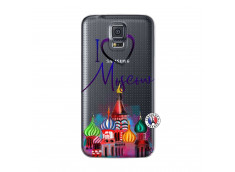 Coque Samsung Galaxy S5 Mini I Love Moscow