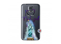 Coque Samsung Galaxy S5 Mini I Love New York