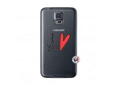 Coque Samsung Galaxy S5 Mini I Love You