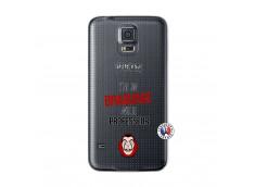 Coque Samsung Galaxy S5 Mini J Peux Pas J Ai Un Braquage Avec Le Professeur