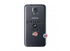 Coque Samsung Galaxy S5 Mini Je M En Bas Les Steaks