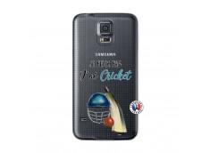 Coque Samsung Galaxy S5 Mini Je peux pas j'ai cricket