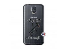 Coque Samsung Galaxy S5 Mini Je peux pas j'ai crossfit