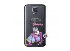 Coque Samsung Galaxy S5 Mini Je Peux Pas J Ai Shopping