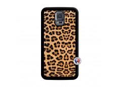Coque Samsung Galaxy S5 Mini Leopard Style Noir
