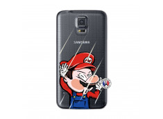 Coque Samsung Galaxy S5 Mini Mario Impact