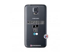 Coque Samsung Galaxy S5 Mini Marseillais à Vie