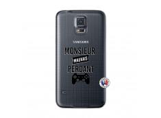 Coque Samsung Galaxy S5 Mini Monsieur Mauvais Perdant