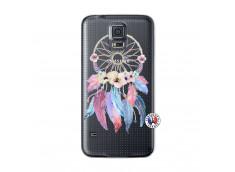Coque Samsung Galaxy S5 Mini Multicolor Watercolor Floral Dreamcatcher