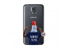 Coque Samsung Galaxy S5 Mini Papa Super Heros